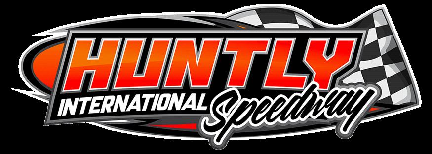 Huntly Speedway large Logo white background