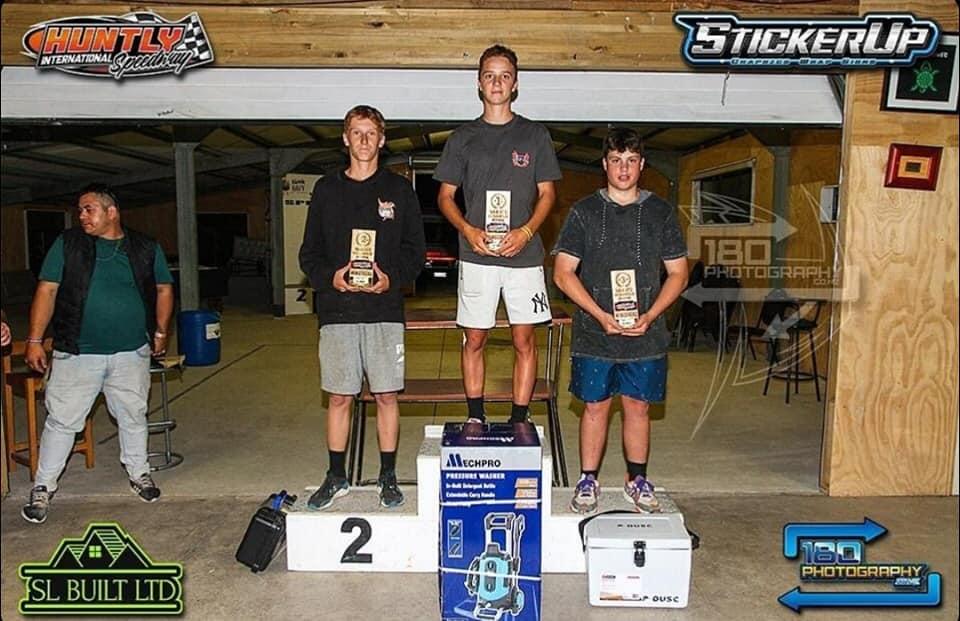 Kiwi Timber & Repco Waikato Ministock Championship Podium