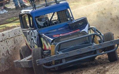 STOCKCARS REP Matt Hazelton Huntly Speedway