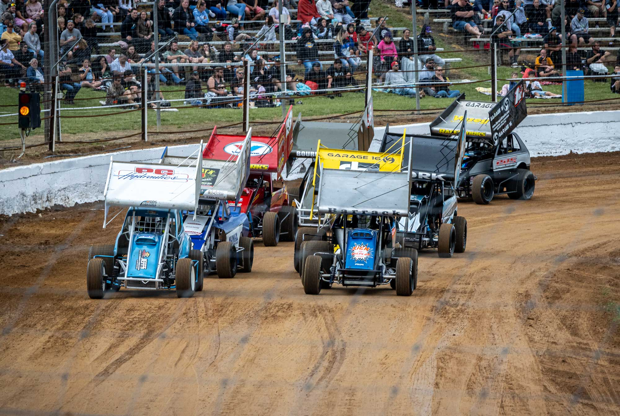 Huntly Modifieds Rolling Start