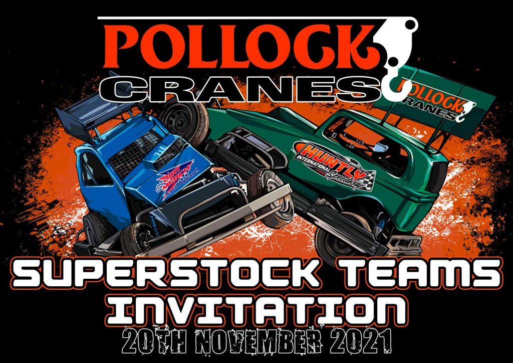 Pollock Cranes Superstock Teams 2